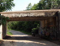 1925 Frisco Overpass over Route 66