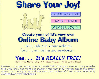 Free Baby Website From BabaBabies.Com