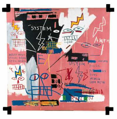 I know one day Ill turn the corner and I wont b ready for it, Jean-Michel Basquiat
