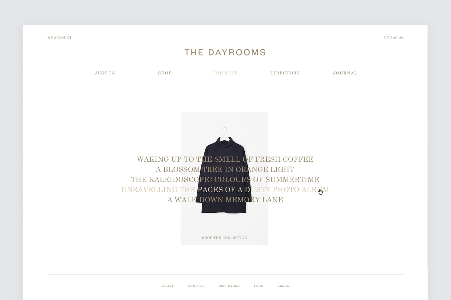 New Brand Identity For The Dayrooms By Two Times Elliott