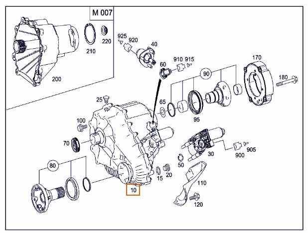 Boîte de transfert MERCEDES-BENZ M-CLASS (W164) ML 63 AMG