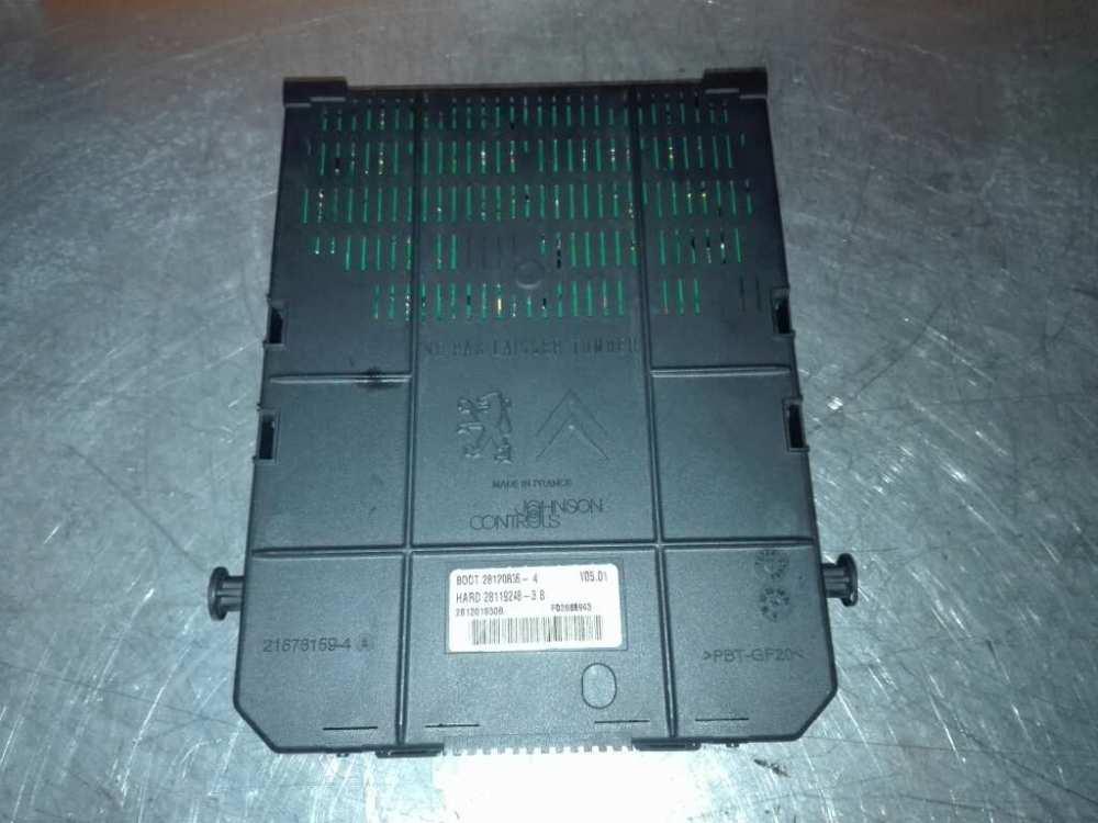 medium resolution of  fuse box 96640590800r citro n c4 picasso i mpv ud 1 6 hdi 5