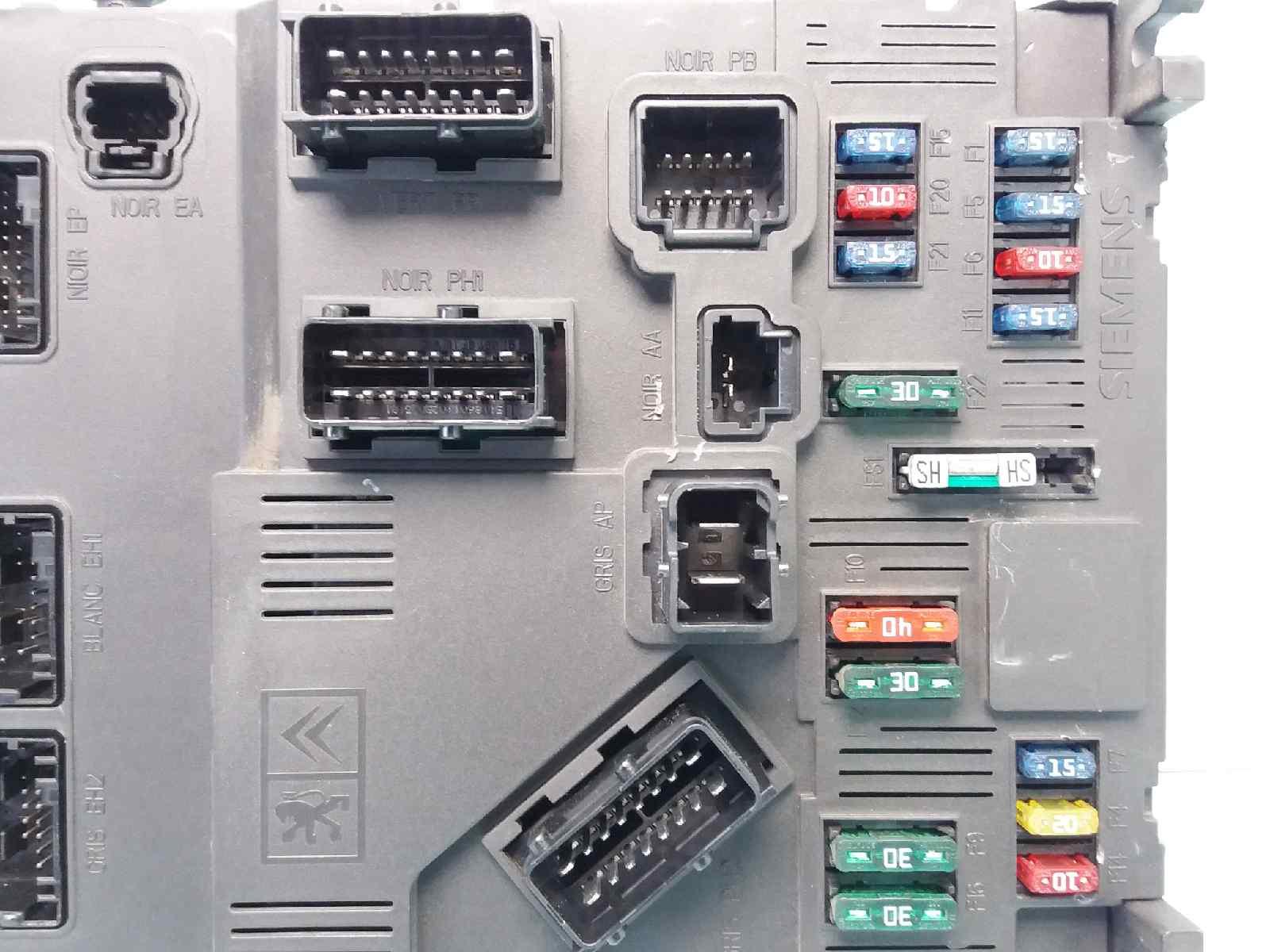hight resolution of  fuse box s118085210 9645747480 peugeot 206 hatchback 2a c 1 6 16v