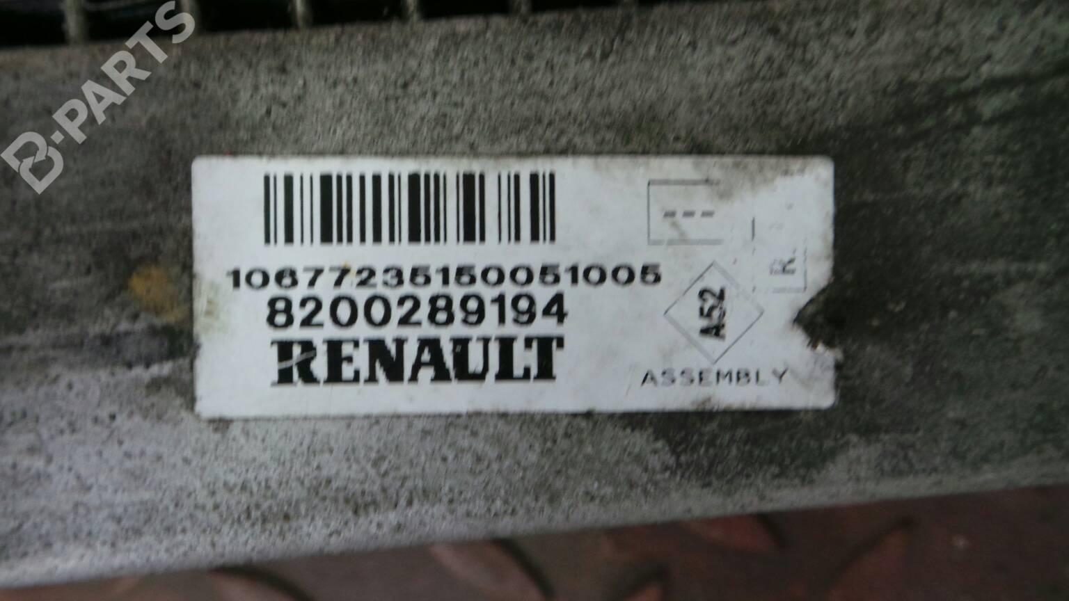 hight resolution of water radiator 8200289194 renault clio iii br0 1 cr0