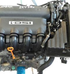 engine 1010591 honda jazz ii gd ge3 ge2 1 2 i  [ 1536 x 864 Pixel ]