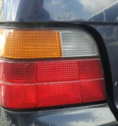 left taillight bmw 3 touring e36 318 tds 5 doors  [ 1536 x 864 Pixel ]