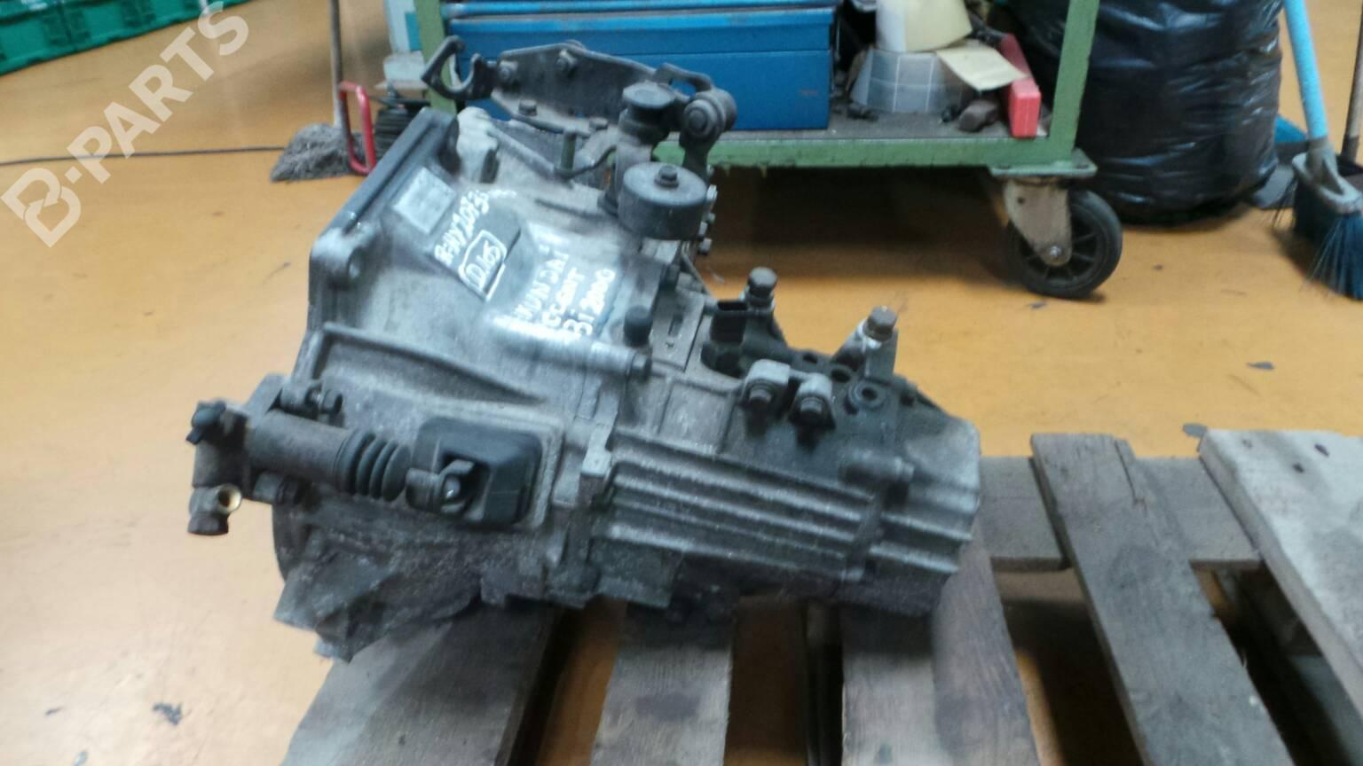 hight resolution of  manual gearbox hy2073 hyundai accent ii lc 1 3 75hp g4ea