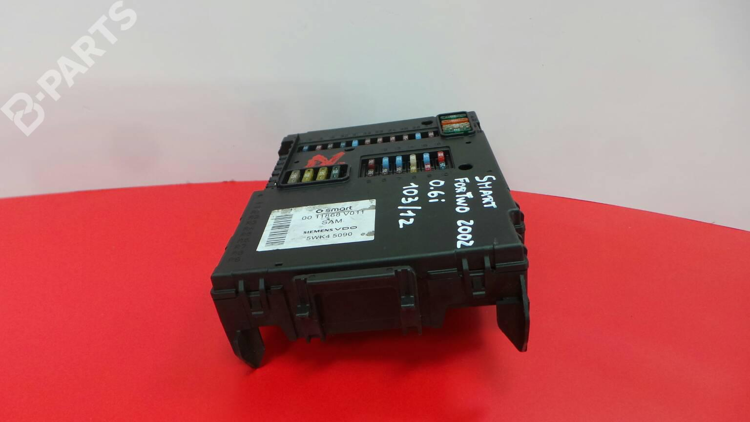 hight resolution of fuse box 0011868v011 5wk45090 smart city coupe 450 0 6 s1cla1