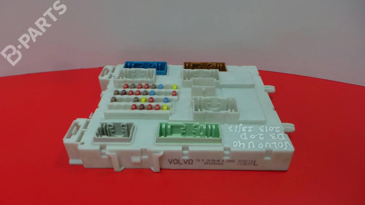 hight resolution of fuse box 31394136 volvo v40 hatchback 525 526 d3 5 doors