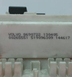 fuse box 8690722 0 0265551 volvo s40 ii 544 2 0 d4  [ 1536 x 864 Pixel ]