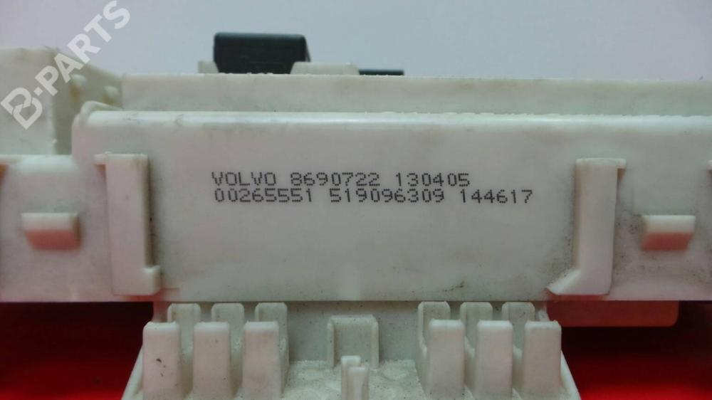 medium resolution of  fuse box 8690722 0 0265551 volvo s40 ii 544 2 0 d4