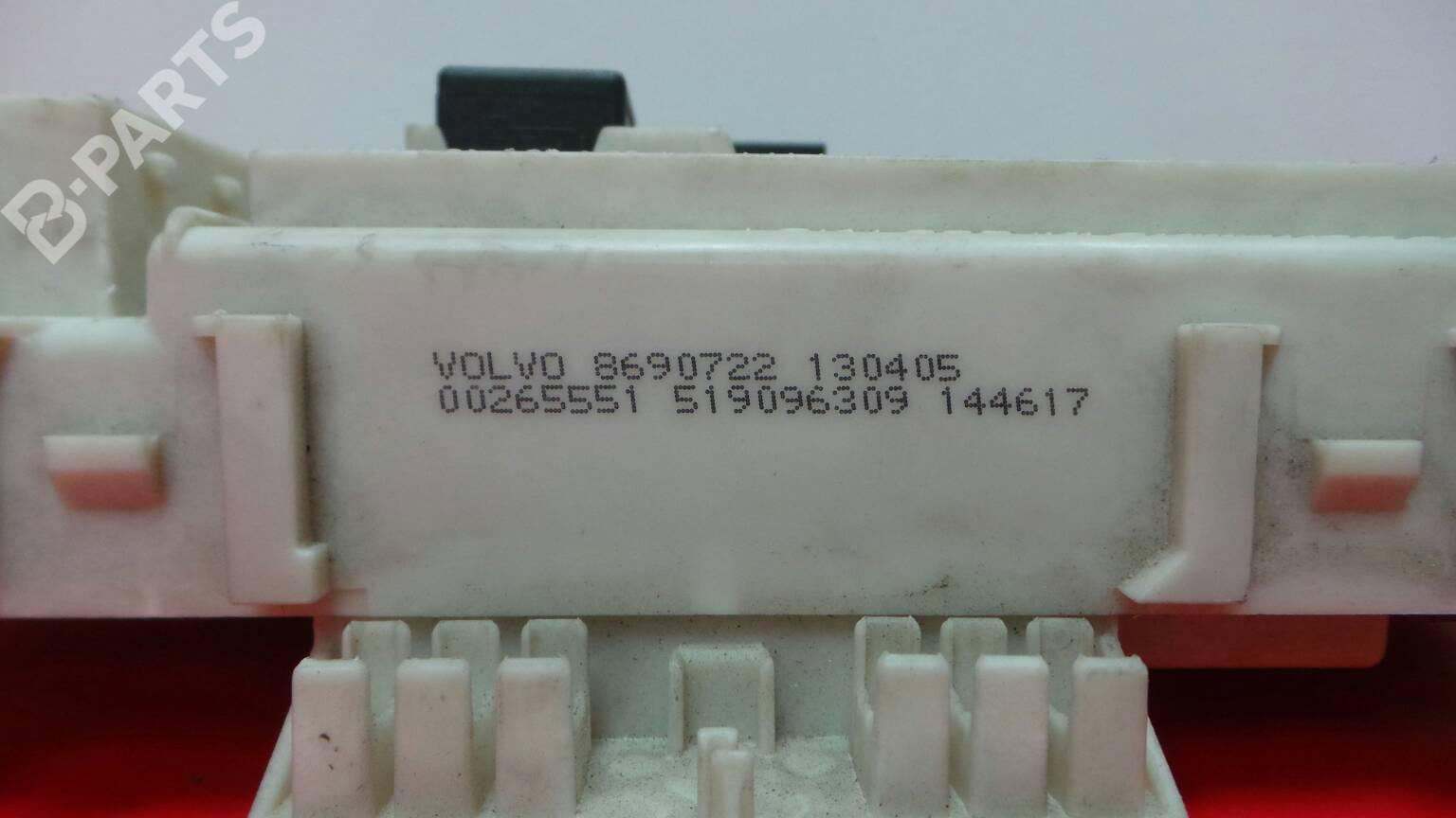 hight resolution of  fuse box 8690722 0 0265551 volvo s40 ii 544 2 0 d4