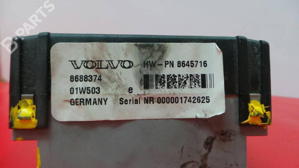 medium resolution of fuse box hw pn 8645716 volvo xc70 cross country 295 2 4 t
