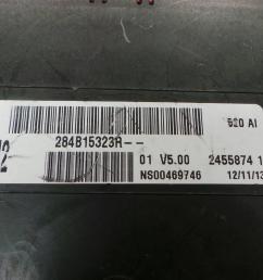fuse box 284b15323r renault kangoo express fw0 1 1 5 dci 75  [ 1536 x 864 Pixel ]