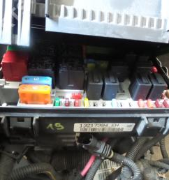 fuse box 13217394eh opel corsa d 1 3 cdti 3 doors 90hp  [ 1024 x 768 Pixel ]