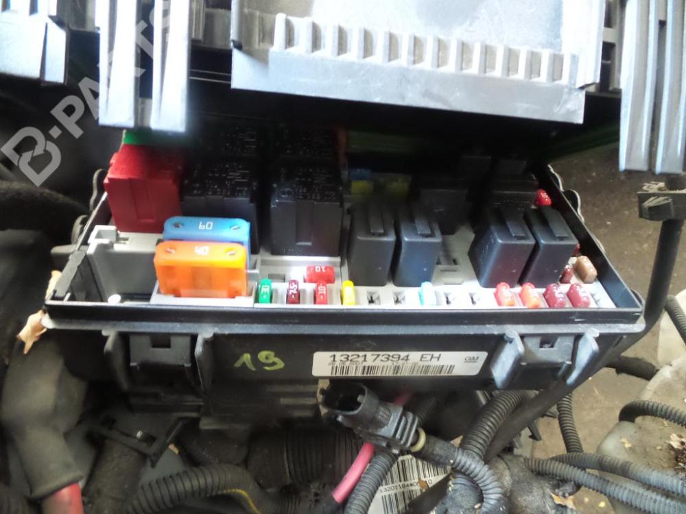 medium resolution of fuse box 13217394eh opel corsa d 1 3 cdti 3 doors 90hp