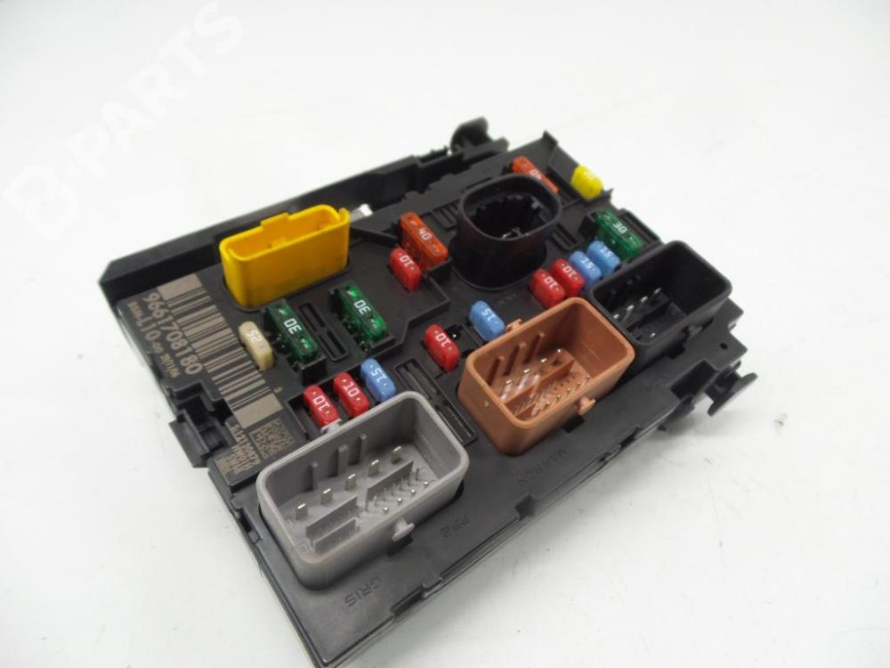 medium resolution of fuse box 9661708180 12130879 bsml1000 peugeot 207 wa wc 1 6