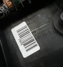fuse box audi a3 sportback 8pa 1 9 tdi 5 doors  [ 1024 x 768 Pixel ]