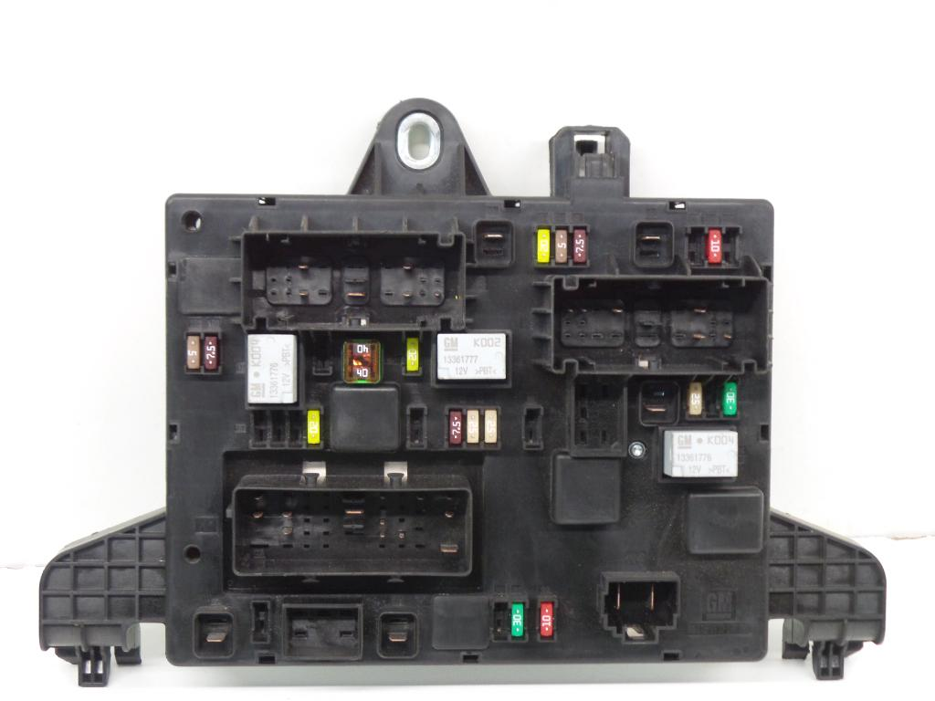 hight resolution of fuse box 13368653 365927 opel zafira tourer c p12 1 4 75