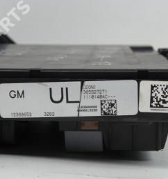 fuse box 13368653 365927 opel zafira tourer c p12 1 4 75 [ 1024 x 768 Pixel ]