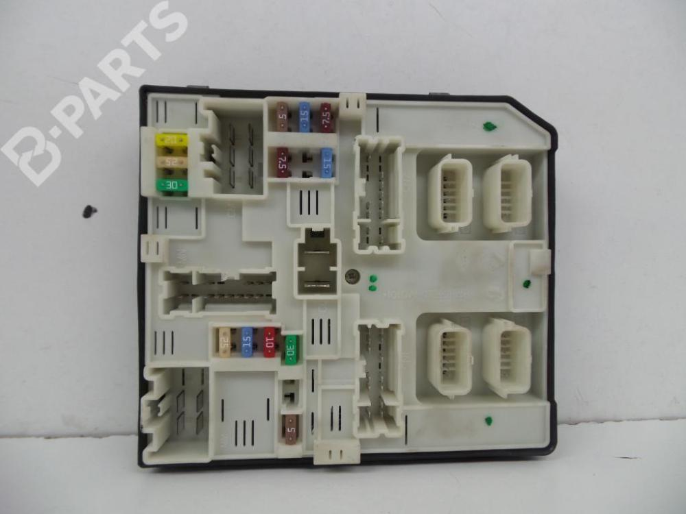 medium resolution of  fuse box 284b66645r 519533f02 2397621981 novo 0 km renault kangoo grand