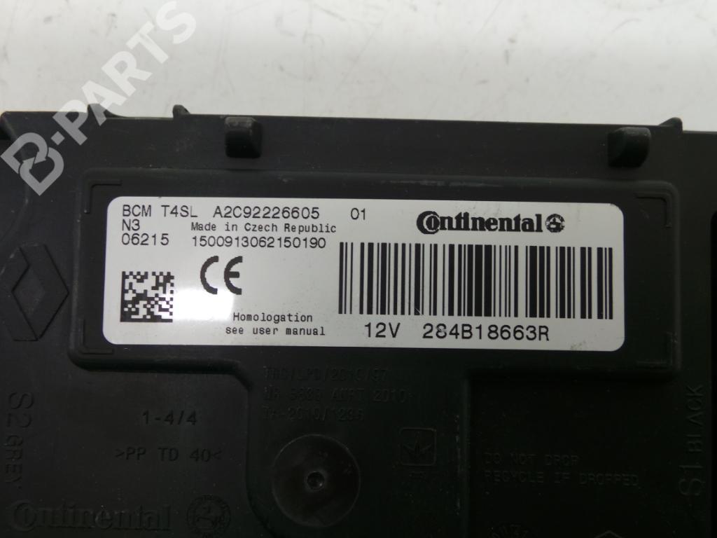 hight resolution of fuse box a2c92226605 284b18663r renault clio iv bh 1 5