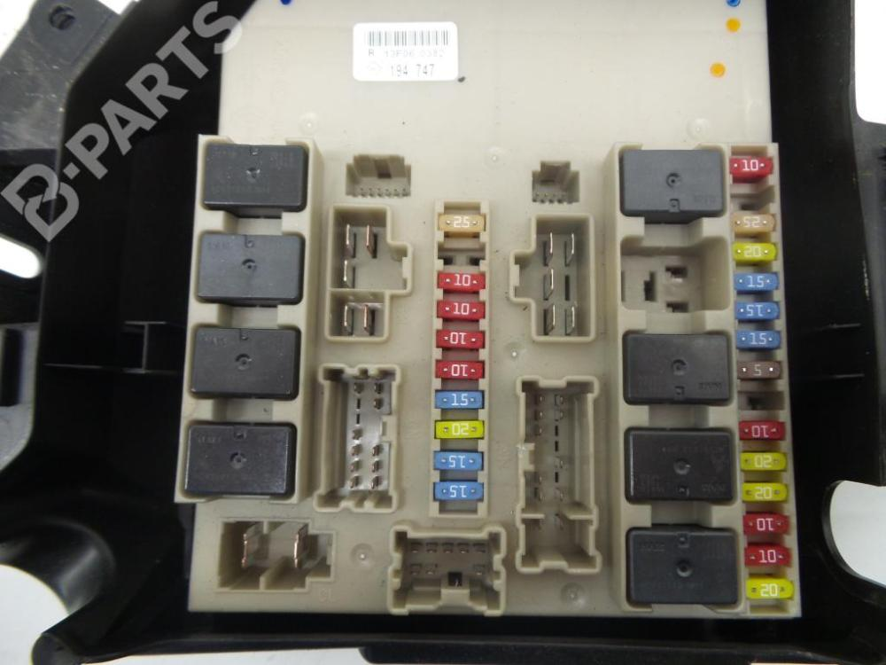 medium resolution of fuse box renault clio iii br0 1 cr0 1 1 5 dci 1222715 rh b parts