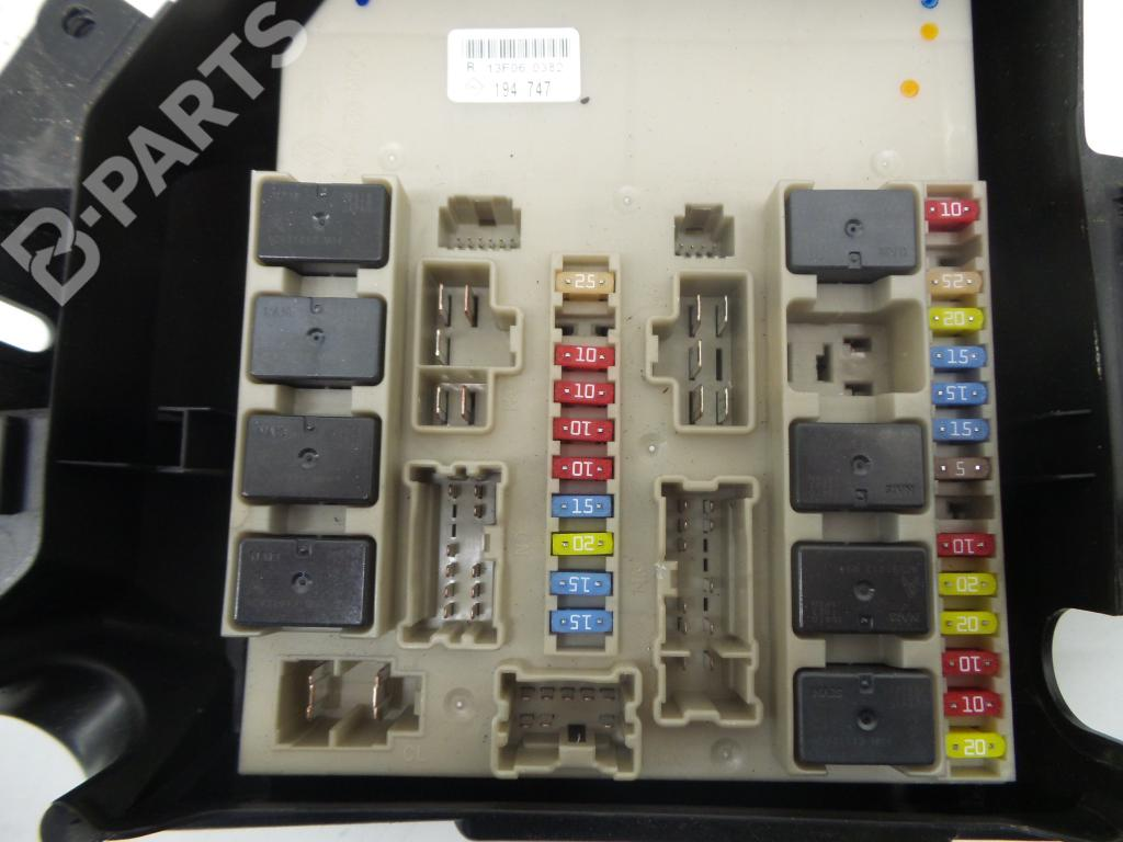 hight resolution of fuse box renault clio iii br0 1 cr0 1 1 5 dci 1222715 rh b parts