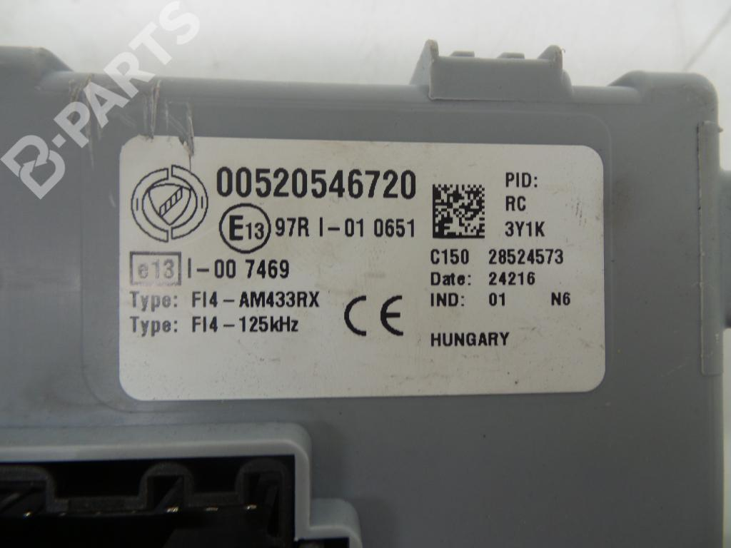 hight resolution of  fuse box 00520546720 fiat 500 312 1 2 3 doors 69hp