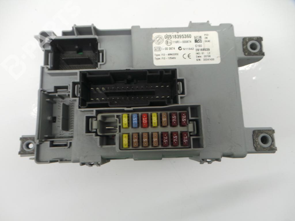 hight resolution of fuse box 00518395360 28169539 fiat 500 312 1 4 3 doors