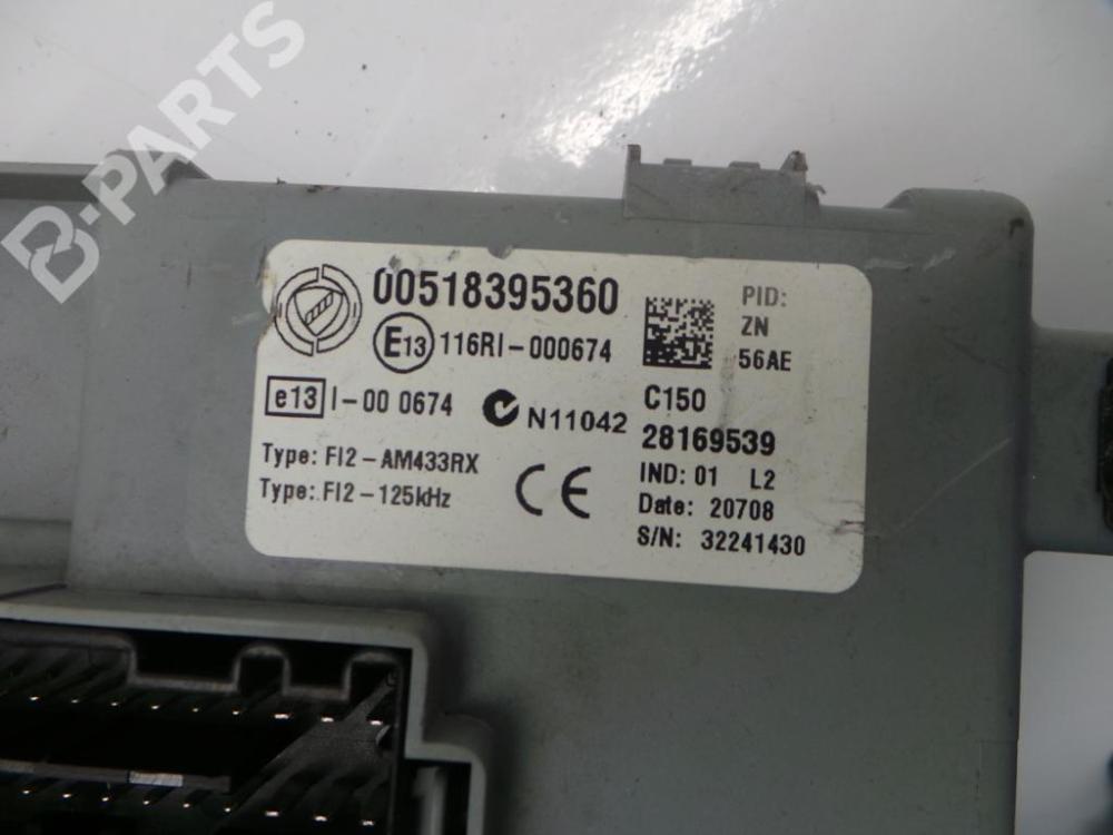 medium resolution of  fuse box 00518395360 28169539 fiat 500 312 1 4 3 doors
