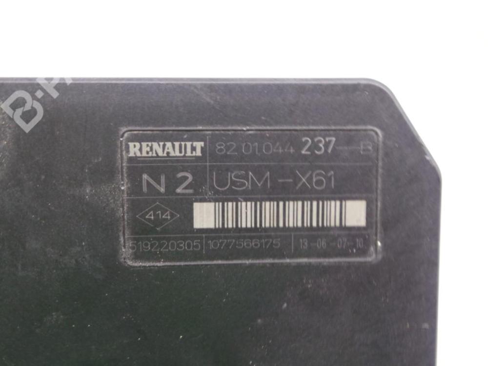 medium resolution of fuse box 8201044237b 519220305 usmx61 renault kangoo grand kangoo kw0