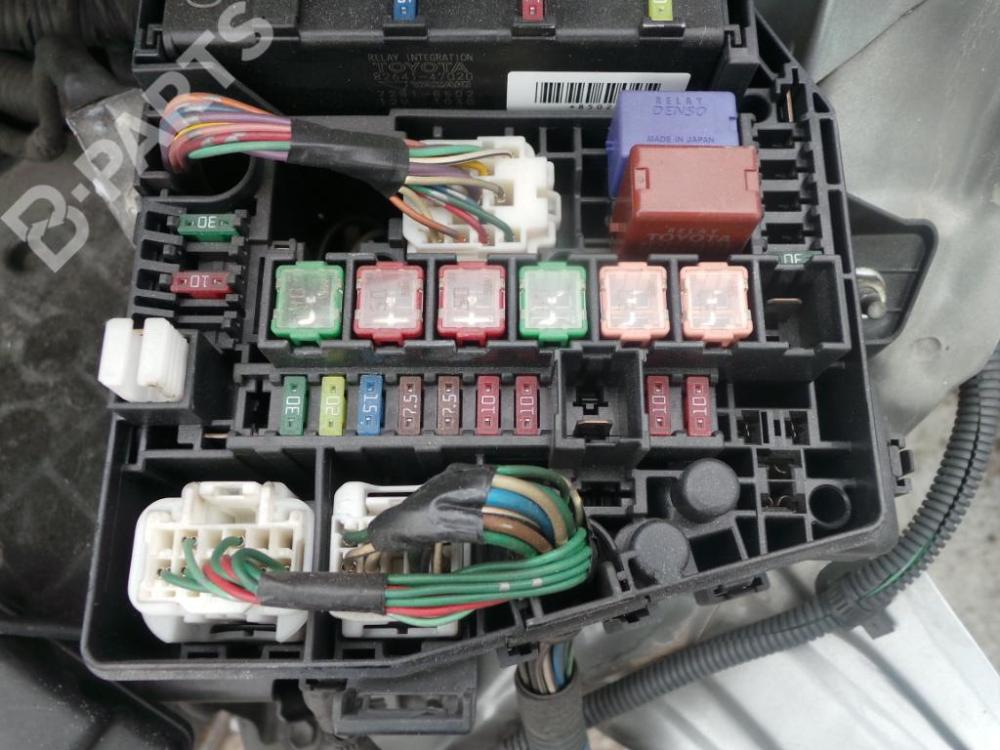 medium resolution of fuse box in toyota yaris wiring diagram show toyota yaris fuse box location 2007 toyota yaris fuse box