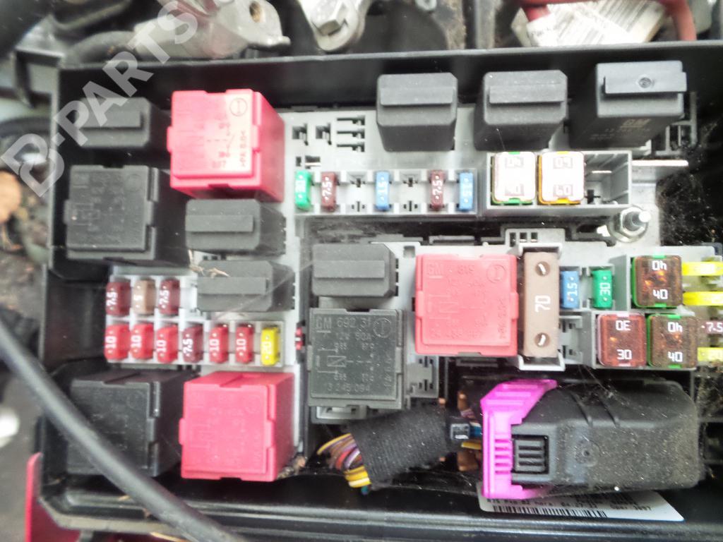 hight resolution of fuse box opel corsa d s07 1 3 cdti l08 l68 b parts fuse box opel corsa c fuse box in opel corsa