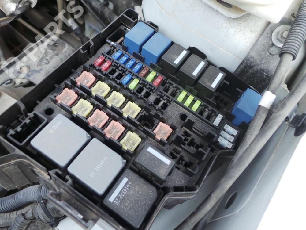 medium resolution of fuse box ford fiesta vi cb1 ccn 1 6 tdci 5 doors