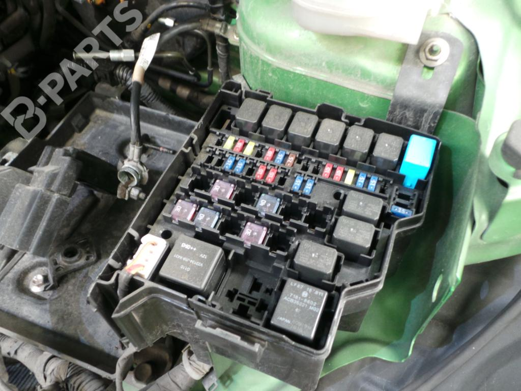 hight resolution of mazda 2 2008 fuse box data wiring diagrams 1995 mazda b2300 fuse box diagram fuse box