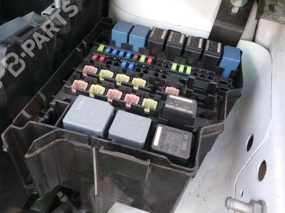 medium resolution of fuse box ford transit courier box 1 5 tdci 2 doors 95hp