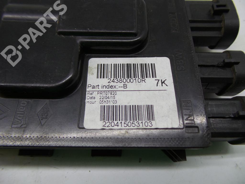 hight resolution of  fuse box 243800010r renault clio iv bh ks 175 521 51