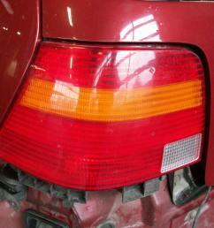 left taillight vw golf iv 1j1 1 4 16v 3 doors  [ 1280 x 960 Pixel ]