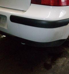 rear bumper 1j6807421d gru vw vw golf iv 1j1 1 9 tdi [ 1280 x 960 Pixel ]