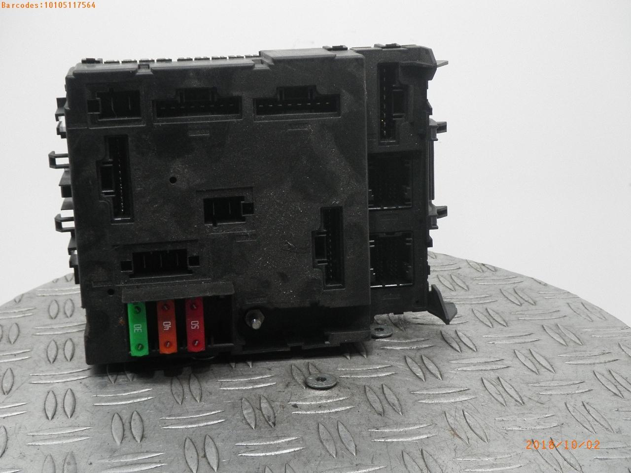 hight resolution of fuse box a4519007800 001 smart zentralelektrik smart fortwo coupe 451