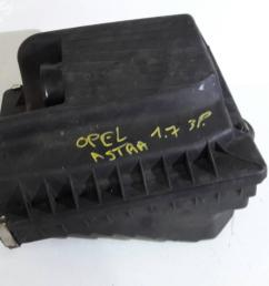 air filter box 24443112 opel astra g hatchback t98 1 7 dti 16v  [ 1536 x 1152 Pixel ]