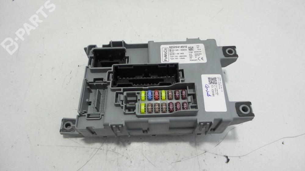 medium resolution of fuse box 00520414910 ford ka ru8 1 2 69hp fp4 2008