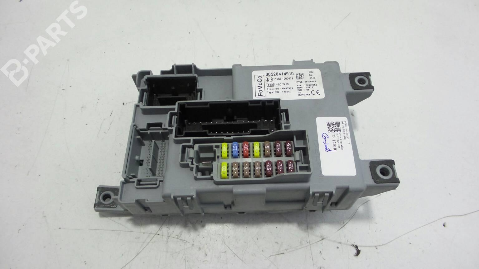 hight resolution of fuse box 00520414910 ford ka ru8 1 2 69hp fp4 2008