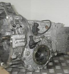 manual gearbox dhw vw vw passat 3b2 1 8 t 150hp  [ 1260 x 945 Pixel ]