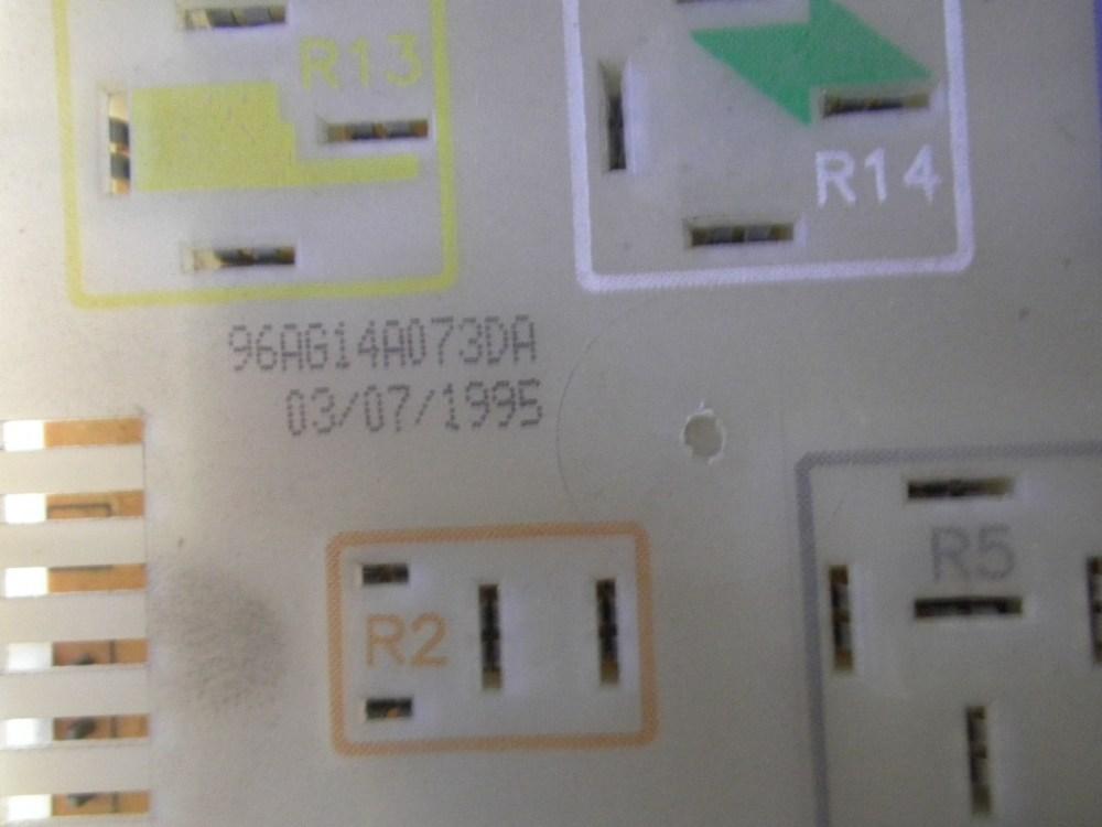 medium resolution of  fuse box 96ag14a073da ford ford escort vii gal aal abl