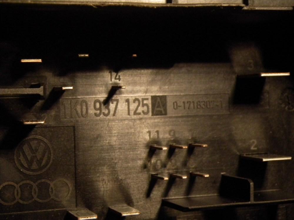 medium resolution of  fuse box 1k0937125a audi audi a3 sportback 8pa 2 0 tdi 16v