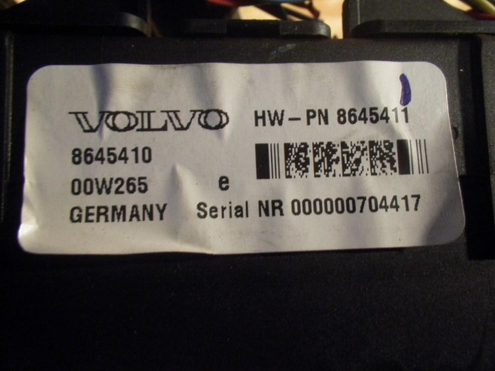 medium resolution of  fuse box 8645410 volvo volvo s80 i 184 2 4 4