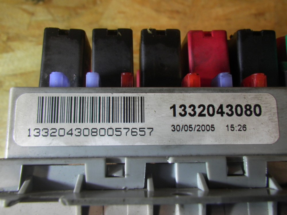medium resolution of  fuse box 1332043080 fiat fiat ducato platform chassis 244 2 8