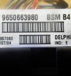 fuse box 9650663980 peugeot peugeot 206 hatchback 2a c 1 1  [ 1260 x 945 Pixel ]